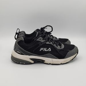 Fila black grey mens shoes sneakers